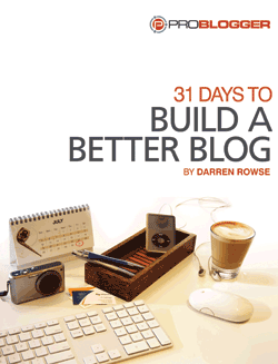 Contest (closed): Building a Better Blog in 30 Days