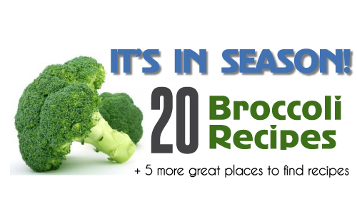It's In Season: 20 Broccoli Recipes