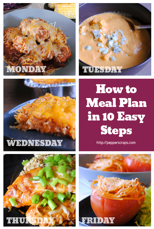 How to meal plan in 10 easy steps