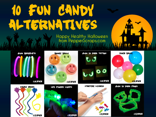 10 Fun Halloween Candy Alternatives