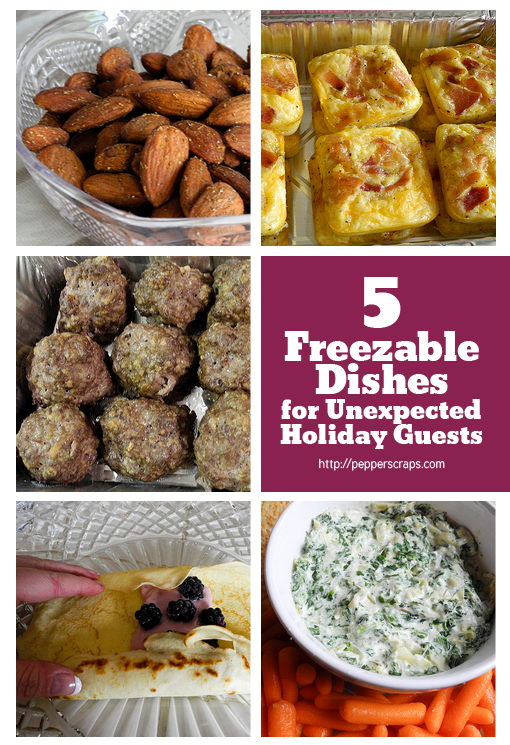 4 freezable dishes for unexpected holiday guests