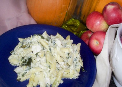 Artichoke Spinach Dip Penne Delight (Guest Post)