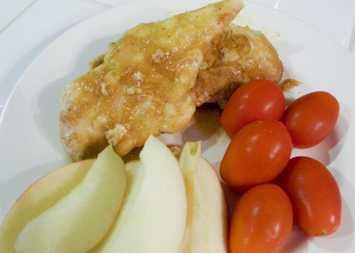 Peachy Chicken in the Crock Pot