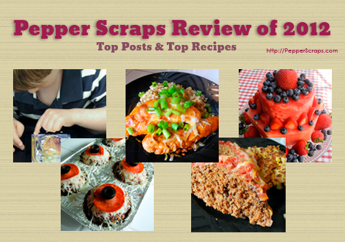Pepper Scraps: Review of 2012