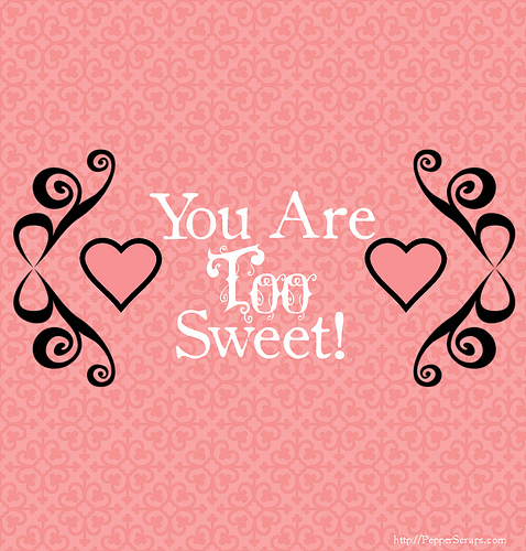 February Freebie: Candy Bar Wrappers