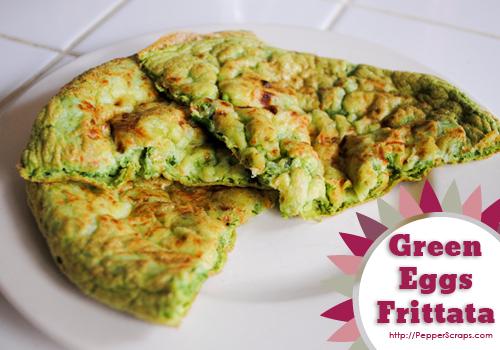 Green Eggs Frittatas