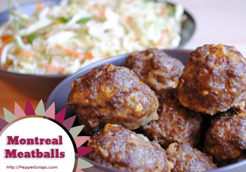 Montreal Meatballs