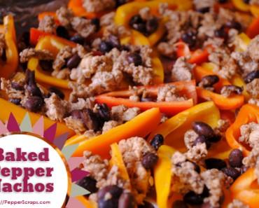 baked-pepper-nachos
