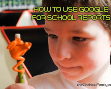 How to Use Google for School Reports