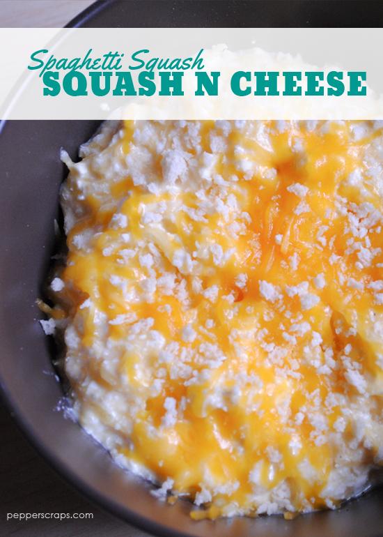 Spaghetti Squash Squash N Cheese