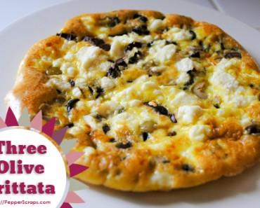 Three-Olive-Frittata