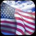 3D US Flag