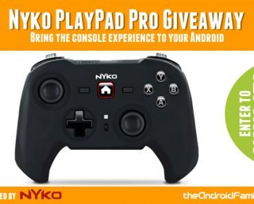 Nyko PlayPad Pro Giveaway