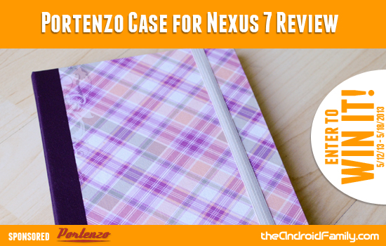 Portenzo Case for Nexus 7 Review and Giveaway