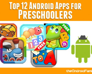 Top Android Apps for Preschool