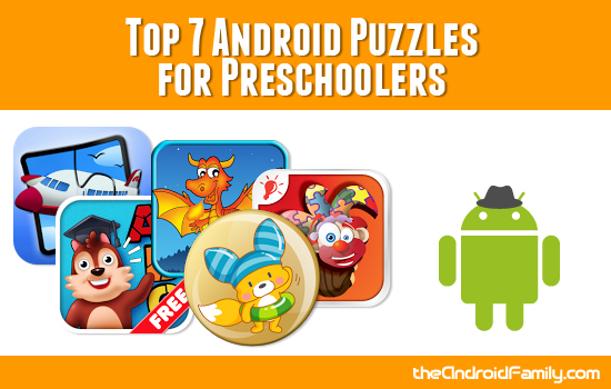 Top Android Puzzles for Preschoolers