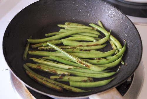 Green Bean & Feta Frittata