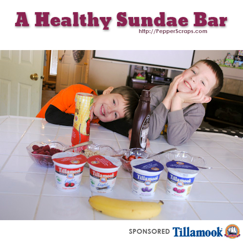 How to Make A Healthy Sundae Bar