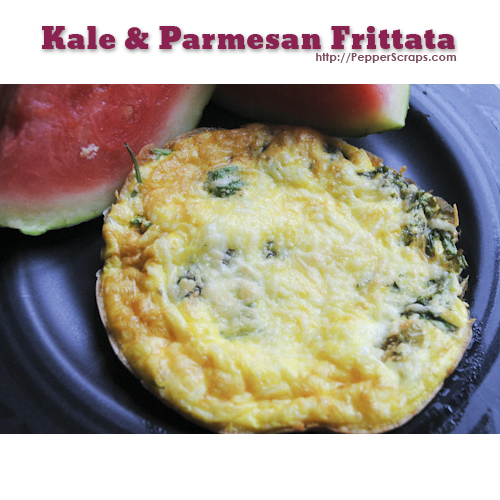Kale and Parmesan Frittata