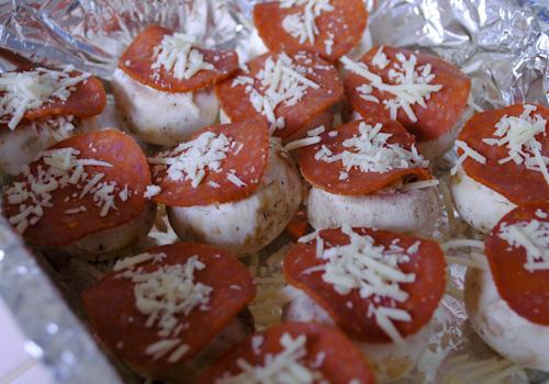 Mushroom Cap Pizzas_7