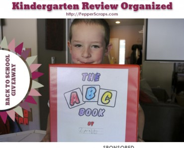 Back to School Kindergarten review organized