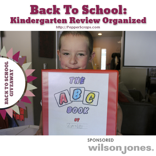 Back to School Kindergarten review organized