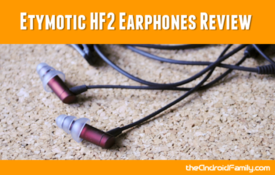 Etymotic HF2 Earphones Review
