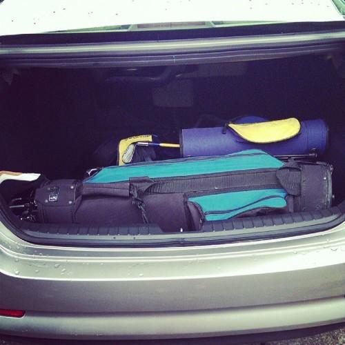 Four Golf Bags