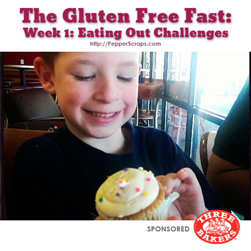 GlutenFree Fast Eating Out Challenges