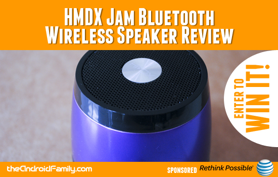 HMDX Jam Bluetooth Wireless Speaker Review