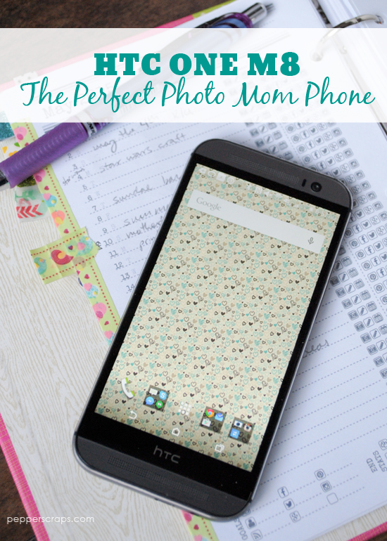 HTC One M8 The Perfect Photo Mom Phone