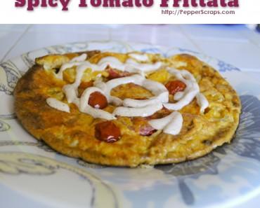 Spicy Tomato Frittata