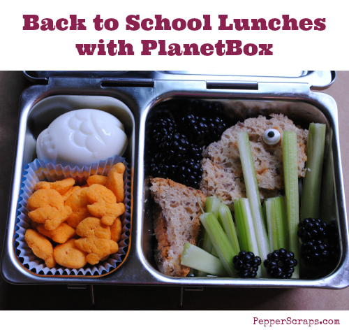 Back to School Lunches with PlanetBox