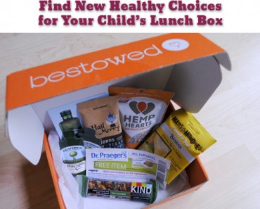 Bestowed Find New Healthy Choices for your Childs Lunch Box