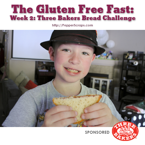 GlutenFree Fast Three Bakers Bread Challenge