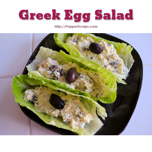 Greek Egg Salad