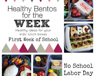 Bentos First Week of School