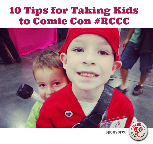 Tips for Taking Kids to Comic Con Rose City Comic Con