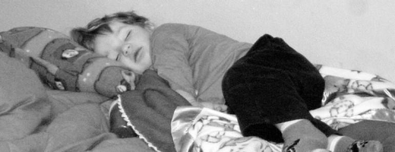 Zaney asleep