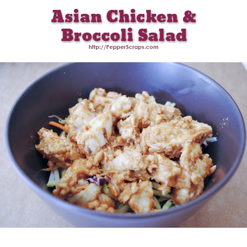 Asian Chicken and Broccoli Salad