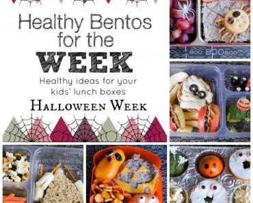 Healthy Bentos Halloween Week