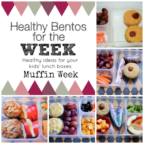 Healthy Bentos Muffin Week