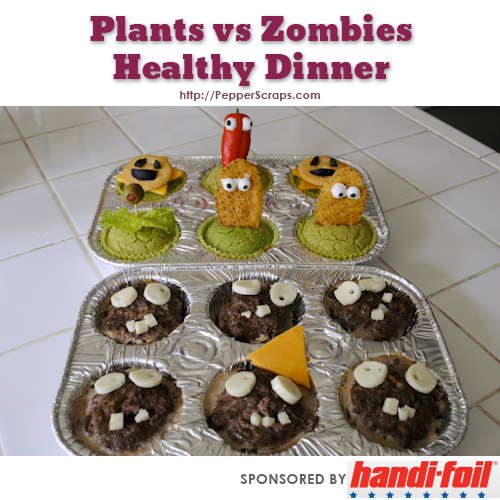 Plants vs Zombies Healthy Dinner