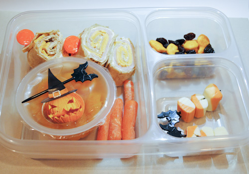 Simple Halloween Bentos