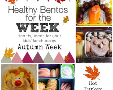 Autumn Week Healthy Bento Lunches