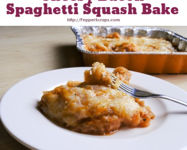 Cheesy Bacon Spaghetti Squash Bake