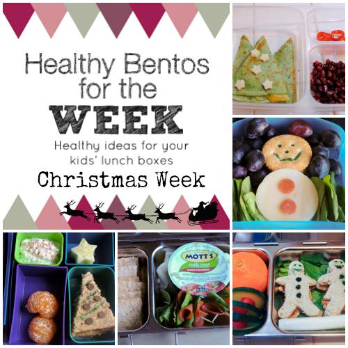 Christmas Week Bentos