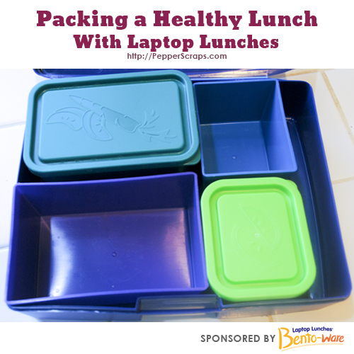 Packing a healthy lunch with laptop lunches