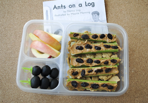 Book Bento Ants on a Log sm