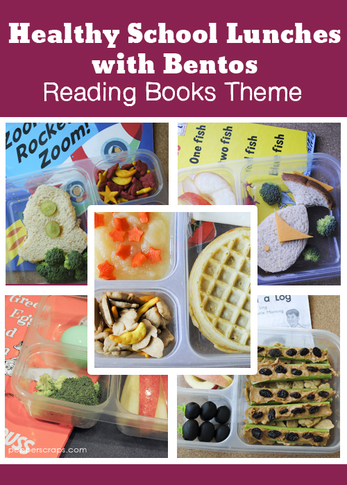 Healthy School Lunches Reading Books Theme